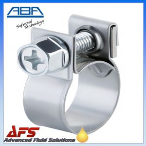 ABA Mini Stainless Steel Clip to Suit 15mm O.D Hose (19/32)
